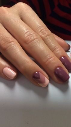 Decorated Nails: This is the manicure you do in this he .- Verzierte Nägel: Dies ist die Maniküre, die Sie in diesem Herbst tragen werden Decorated nails: this is the manicure you will be wearing this fall - Perfect Nails, Gorgeous Nails, Stylish Nails, Trendy Nails, Pink Nails, My Nails, Chevron Nails, Nail Manicure, Nail Polish