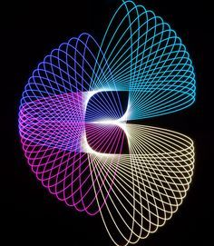 light painting photography physiograms