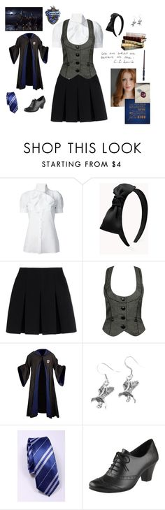 """Ravenclaw"" by creaturesinthedark ❤ liked on Polyvore featuring Dsquared2, Forever 21 and Alexander Wang"