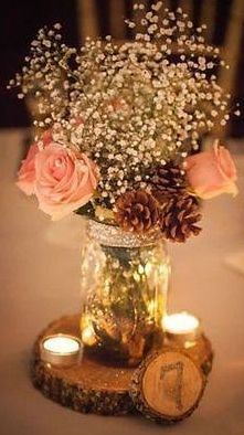 Trying to stay within your wedding planning budget? Get our best ideas for DIY wedding decorations, like centerpieces, party favors, flower arrangements, and wedding decor right here. Chic Wedding, Perfect Wedding, Our Wedding, Wedding Country, Wedding Vintage, Wedding Rustic, Wedding 2017, Trendy Wedding, Wedding Ceremony