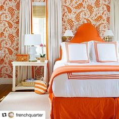"183 Likes, 6 Comments - Matouk (@matouklinens) on Instagram: ""@frenchquarter nails it as usual. Hard to wake up grouchy in this room. #sleepwelltonight ・・・ It's…"""