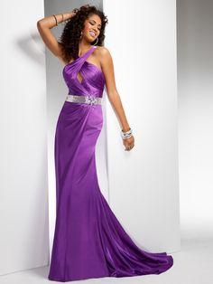 A-line Halter Criss Cross Keyhole Neckline Beaded Straps Waistband Satin Prom Dress-sop0059, $206.95