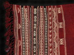 Ethnic textiles - Tunisian textile/TT114 Details