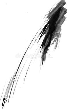 Illustration about An black ink splash on white paper. Illustration of painting, liquid, pattern - 4780125 Black And White Picture Wall, Black And White Painting, Black And White Abstract, White Art, White Paper, Brush Tattoo, Tattoo Trash, Jellyfish Art, Black Splash