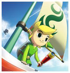 Link from Zelda : The Wind Waker