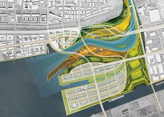 Weiss/Manfredi's proposal for Toronto's Lower Don Lands Wins the American Architecture Award Landscape Plans, Urban Landscape, Landscape Design, Architecture Awards, Architecture Drawings, Architect Career, Urban Design Plan, Landscaping Near Me, Site Plans