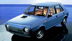 Fiat Strada/Ritmo. Quite funky for it's time