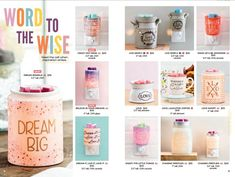 2018 NEW Scentsy Warmers for Spring & Summer