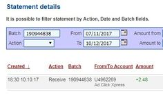 Every day payday 😎 All new Ad Packs purchased with New Money will earn 3% per day,or 150% in just 60 days. Everything you need to make money online is here at ACX - a program that has been paying Daily Sales Commissions (DSC) for over four years. Here is my Withdrawal Proof from AdClickXpress. I get paid daily and I can withdraw daily. Online income is possible with ACX, who is definitely paying - no scam here.