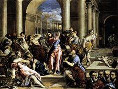 La expulsión de los mercaderes - El Greco