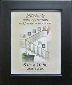 home collection black studio frame michaels - Michaels 8x10 Frame