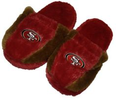 San #Francisco 49ers Side Step Slippers $16.00