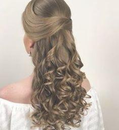 Lange Haarmodelle - Sonia Lopes ( hat das Bild im L & # Hote. - - Lange Haarmodelle - Sonia Lopes ( hat das Bild im L & # Hotel PortoBay São Pau . Wedding Hair Side, Wedding Hairstyles For Long Hair, Bride Hairstyles, Hairstyles Haircuts, Pretty Hairstyles, Bridal Hair, Medium Hair Styles, Curly Hair Styles, Hair Upstyles