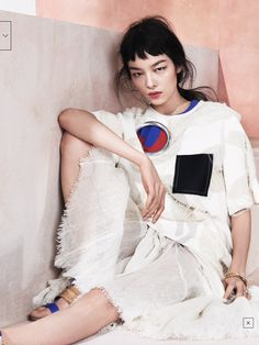 """Modern Romance"" Fei Fei Sun by Sharif Hamza for Vogue China May 2014"