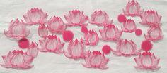 切り絵「花鳥風月」花2-2 | コトコト切り絵中