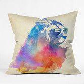 Found it at AllModern - Robert Farkas Sunny Leo Indoor/outdoor Throw Pillow