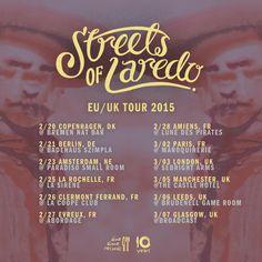 Streets of Laredo - Dine Alone Records Live Music, Tours, Street, Self, Bremen, Walkway