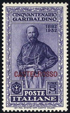 1932, Castelrosso, Garibaldi, 10 valori (Sass. 30-39) Lot condition * Dealer Briefmarken Monster Auction Starting Price: 80.00 EUR