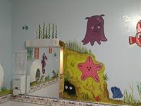 Example of my mural design work... Done for a local care home.