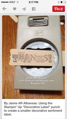 This is pretty cool!  Stampin up punch  To shop visit: https://natalietx.stampinup.net Follow me on Facebook @ super Stampin by: Natalie olveda