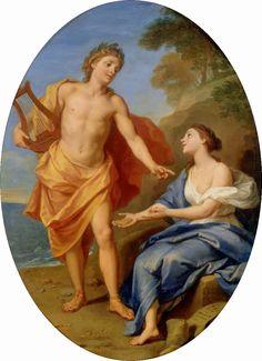 Louis de Boullogne, Apollon a Sibyla