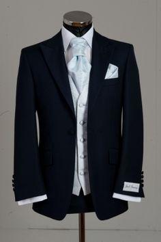 Jack Bunney Ltd, blue wedding suit