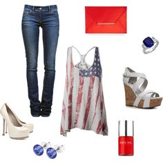american dream, created by tamea-rood on Polyvore