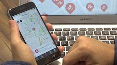 Demonstração do aplicativo Hospital+ para iPhone