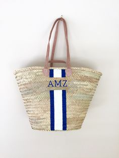 The perfect boat bag and vacation bag! Navy Ink Spot and White stripes, hey  sailor! f000c95c9dd