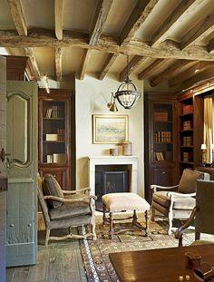 Дом в стиле французского кантри в США   Все самое интересное о дизайне, архитектура, дизайн интерьера, декор, стилевые направления в интерьере, интересные идеи и хэндмейд
