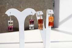 Brilliantly crafted Swarovski crystal earrings Swarovski Crystal Earrings, Bookends, Gallery, Crafts, Home Decor, Manualidades, Decoration Home, Room Decor, Handmade Crafts