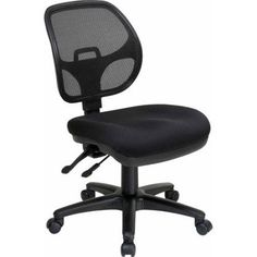 Office Star ProGrid Task Chair, Black