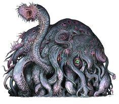 Monster Concept Art, Fantasy Monster, Monster Art, Creature Concept Art, Creature Design, Dark Fantasy, Lovecraftian Horror, Eldritch Horror, Fantasy Beasts