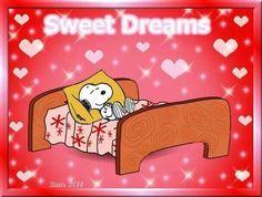 ~Sweet Dreams~  Snoopy is sleeping
