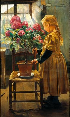 Leon Frederic (1856 – 1940, Belgian) http://iamachild.wordpress.com/category/frederic-leon/