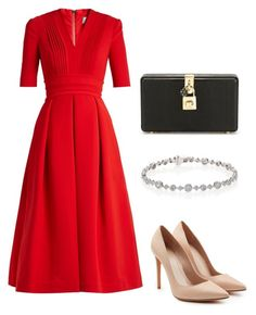 """Untitled #113"" by szevaj on Polyvore featuring Preen, Alexander McQueen, Dolce&Gabbana and Kwiat"