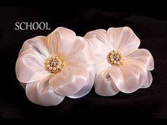 ❤Очень ценю Ваши ЛАЙКИ и КОММЕНТАРИИ!!! ❤СПАСИБО❤ В этом видео (канзаши мастер- класс)  показано как сделать ободок с цветами из лент своими