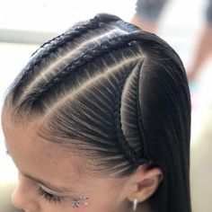 Pretty Braids for Long Hair Looks to Wear in 2019 Lil Girl Hairstyles, Ethnic Hairstyles, Braided Hairstyles, Cool Hairstyles, Braid Styles For Girls, Curly Hair Styles, Natural Hair Styles, Baby Girl Hair, Braids For Kids