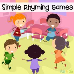 Simple and engaging rhyming games for preschoolers