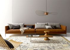 Living Room Trends, Designs and Ideas 2018 / 2019 - InteriorZine Living Room Ideas 2019, Living Room Trends, Living Room Colors, Living Room Designs, Sofa Design, Furniture Design, Living Room Furniture, Living Room Decor, Sofa Furniture