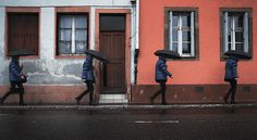 Animated Photography of Routine Walk