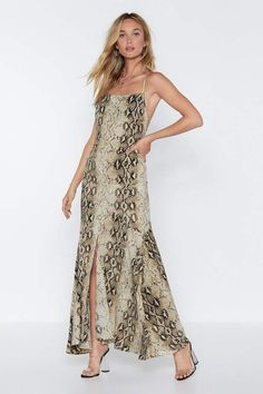 ff83841a70e Sleeveless Strap Leopard Print Backless Maxi Dress