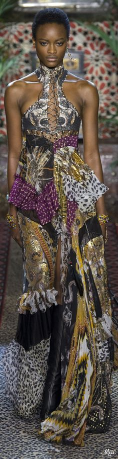 Spring 2017 Ready-to-Wear Roberto Cavalli