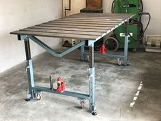 Resultado de imagen de welding bench ideas #woodworkingbench