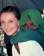 """""""I can testify to what UNICEF means to children, because I was among those who received food and medical relief right after World War II,"""" said actress Audrey Hepburn on her appointment as a Goodwill Ambassador in 1989. """"I have a long-lasting gratitude and trust for what UNICEF does."""" As a result of her work for UNICEF over subsequent years, that gratitude is mutual."""
