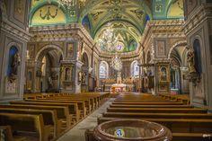 "Church ""Notre Dame de l'Assomption"" in Lanslebourg/Mont Cenis, Alpes, France   by alexander elzinga"