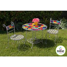 KidKraft Medal Flower Round Table