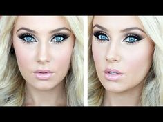 Prom Makeup Tutorial (mainly drugstore) || Wedding Makeup || Lauren Curtis