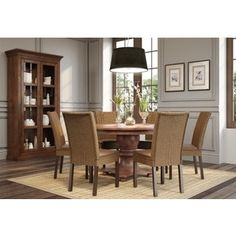 Rosalind Wheeler Beazer Dining Table & Reviews  Wayfair  New Delectable Dining Room Furniture Outlet Stores Inspiration Design