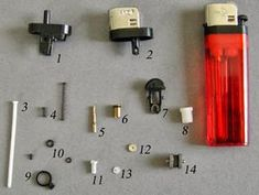 MINI DESIGN: Eulogy on the disposable lighter (Lots of interesting bits for mini making)